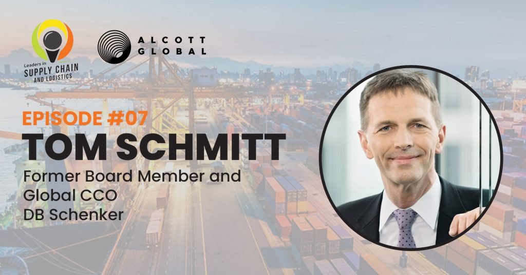 #07: Tom Schmitt former Board Member and Global CCO for DB Schenker Featured Image