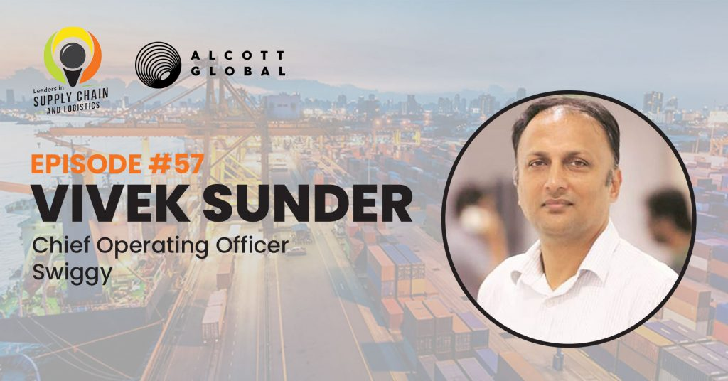 #57: Vivek Sunder Chief Operating Officer of Swiggy Featured Image