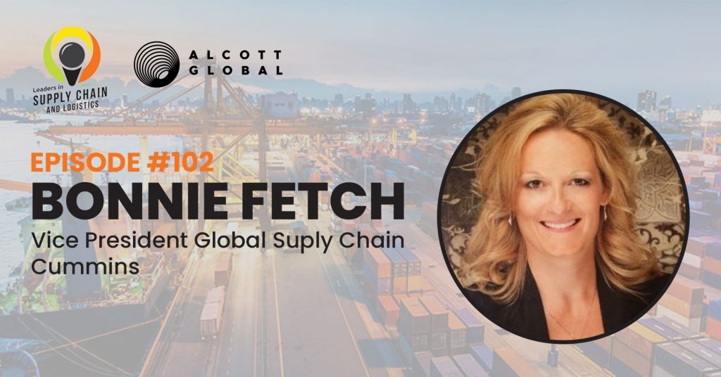 #102: Bonnie Fetch Vice President Global Supply Chain at Cummins Featured Image