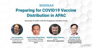 Webinar: Preparing for COVID19 Vaccine Distribution in APAC Featured Image