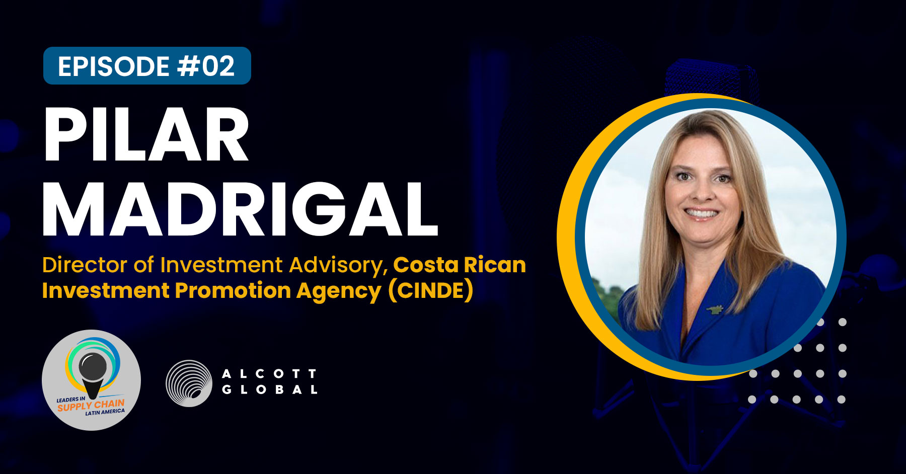 #02: Pilar Madrigal Director of Investment Advisory at Costa Rican Investment Promotion Agency (CINDE) LATAM Featured Image