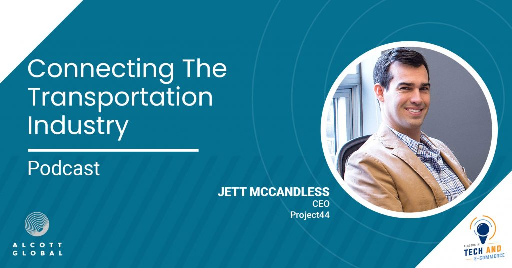 Connecting the Transportation Industry with Jett McCandless CEO project44 Featured Image