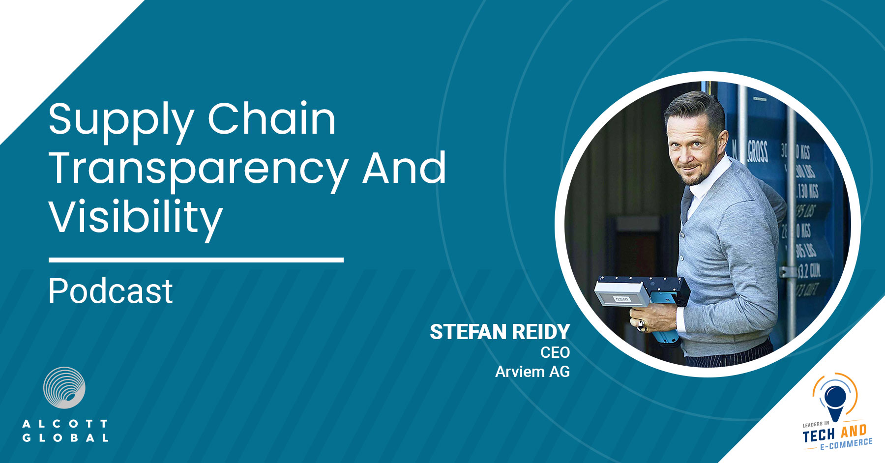 Supply Chain Transparency and Visibility with Stefan Reidy CEO of Arviem AG Featured Image