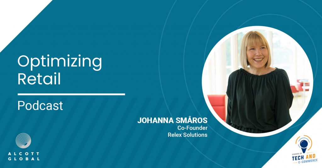 Optimizing Retail with Johanna Småros Co-Founder of Relex Solutions Featured Image