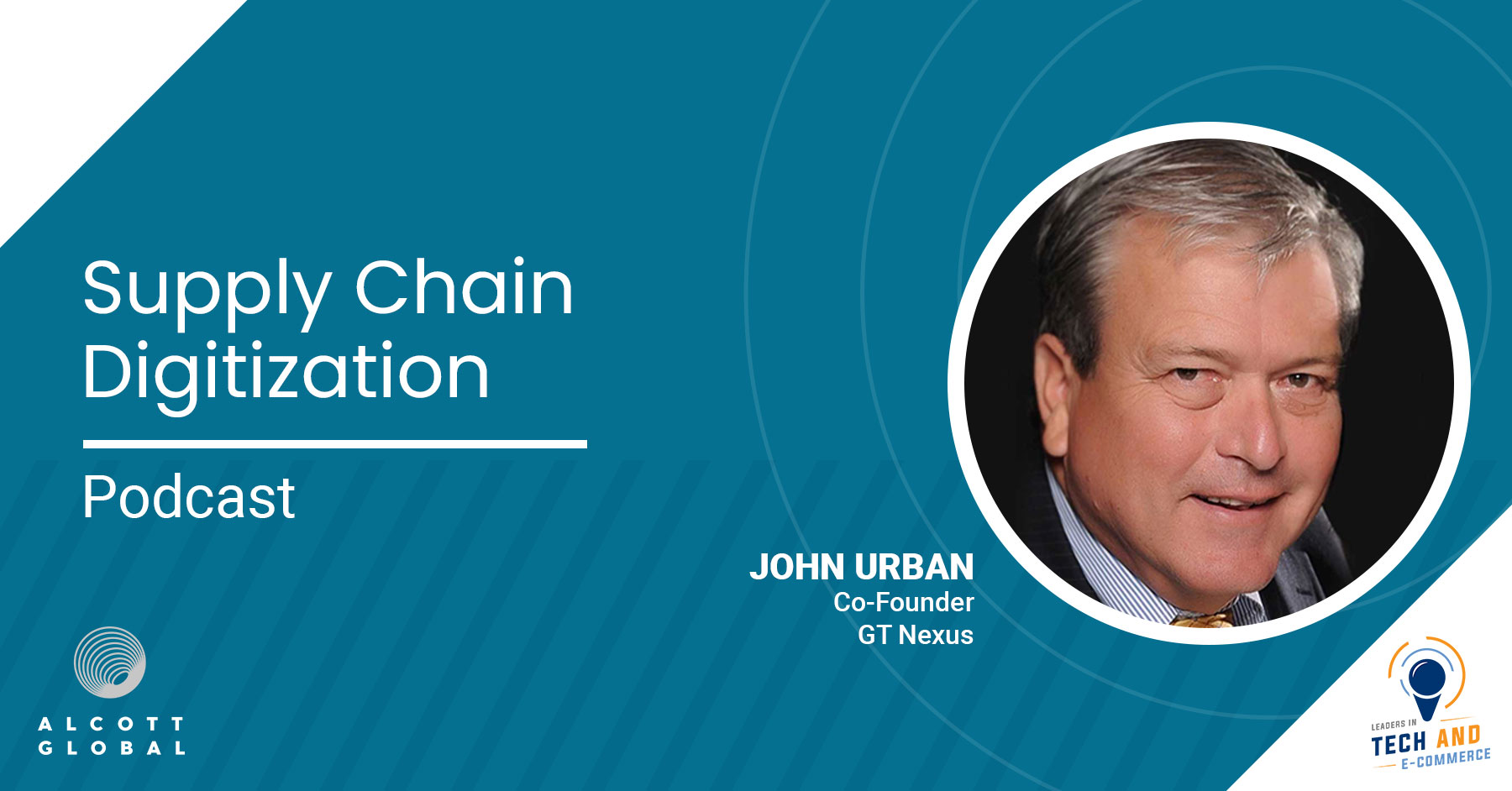 Supply Chain Digitization with John Urban Co-Founder of GT Nexus Featured Image