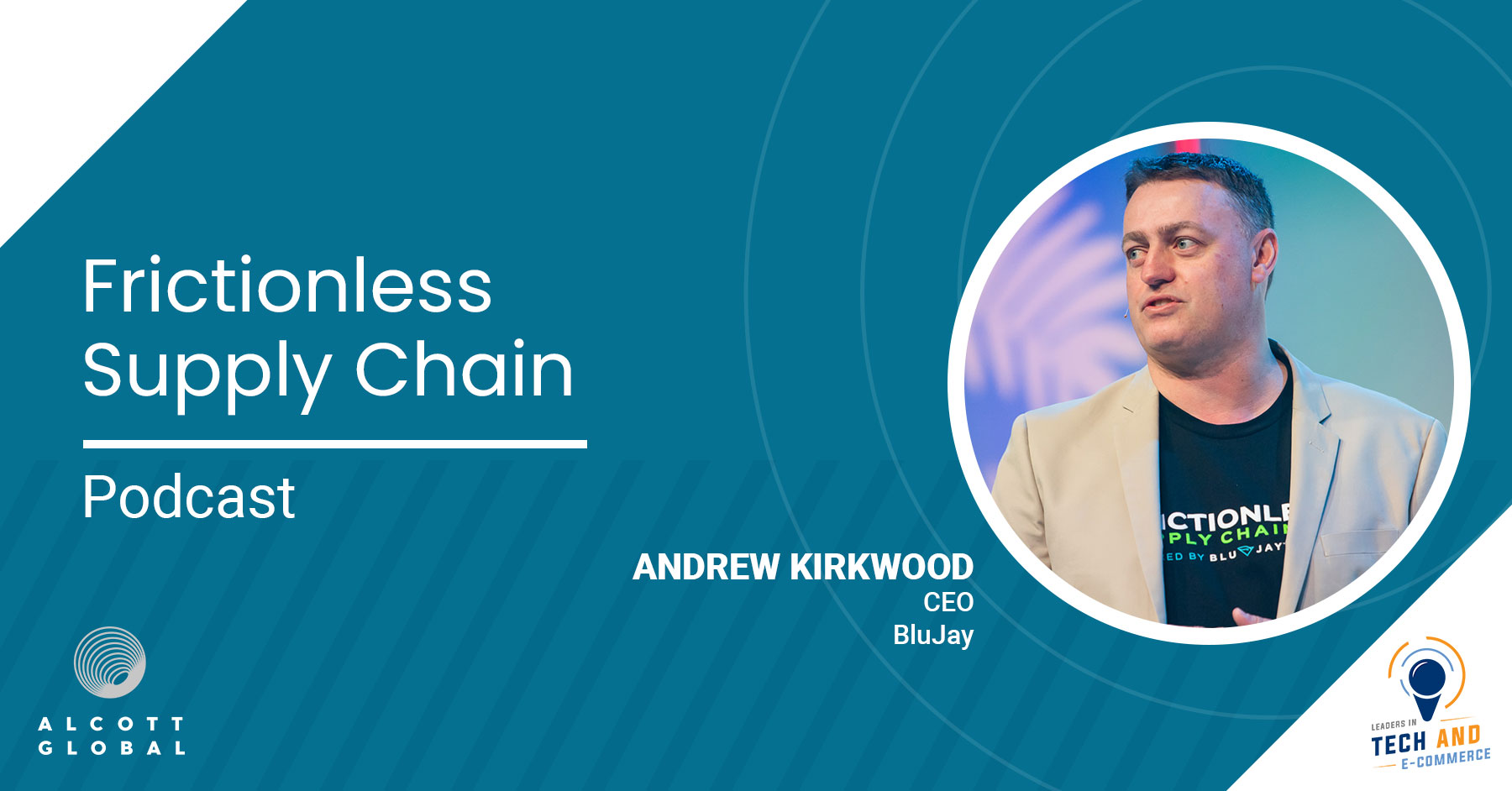 Frictionless Supply Chain with Andrew Kirkwood CEO of BluJay Featured Image