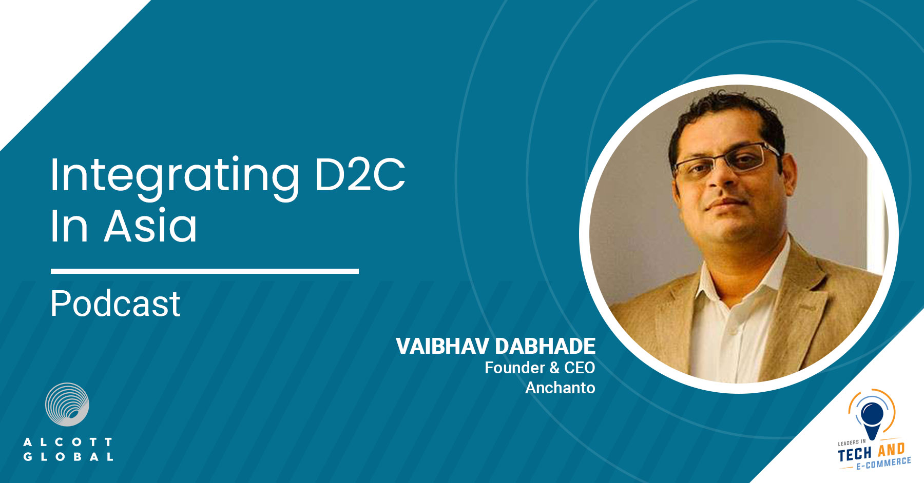 Integrating D2C in Asia with Vaibhav Dabhade Founder & CEO of Anchanto Featured Image