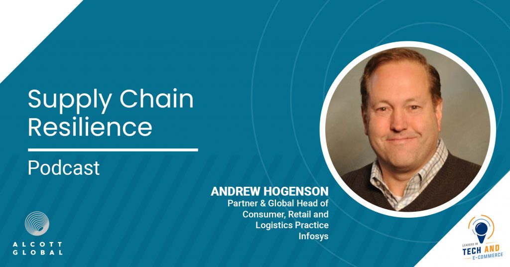 Supply Chain Resilience with Andrew Hogenson Partner & Global Head at Infosys Featured Image