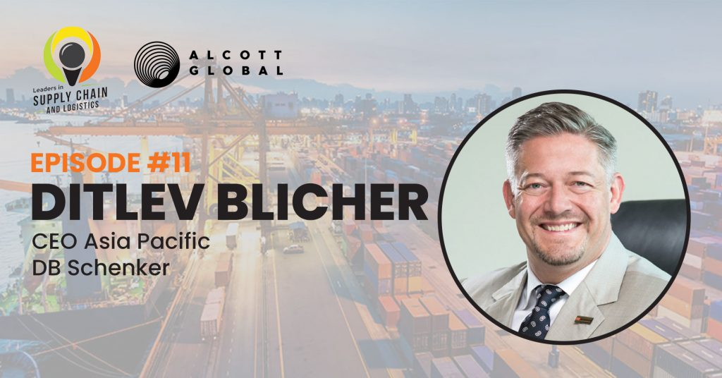 #11: Ditlev Blicher CEO Asia Pacific for DB Schenker Featured Image