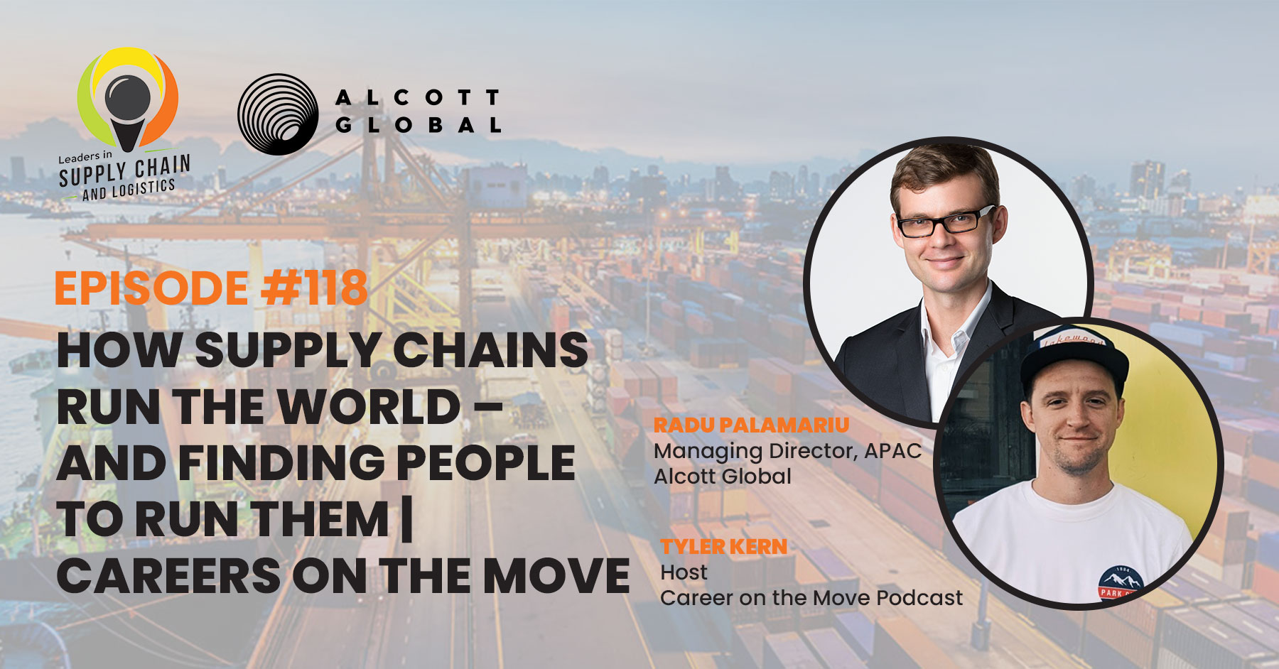 #118: How Supply Chains Run the World – and Finding People to Run Them | Careers on the Move Featured Image