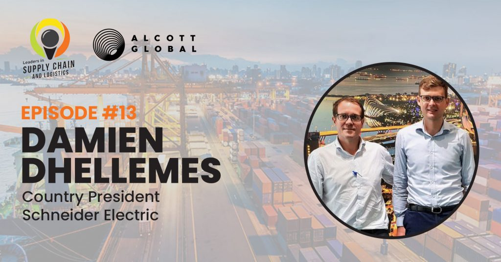 #13: Damien Dhellemes Country President Schneider Electric Featured Image