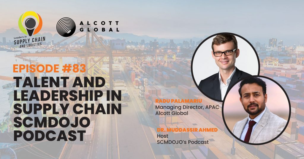 #83: Talent and Leadership in Supply Chain | SCMDojo Podcast Featured Image