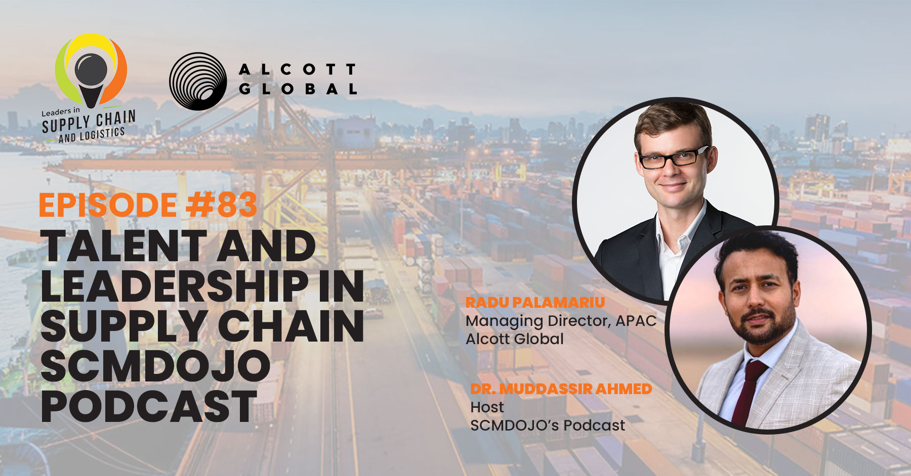#83: Talent and Leadership in Supply Chain   SCMDojo Podcast Featured Image