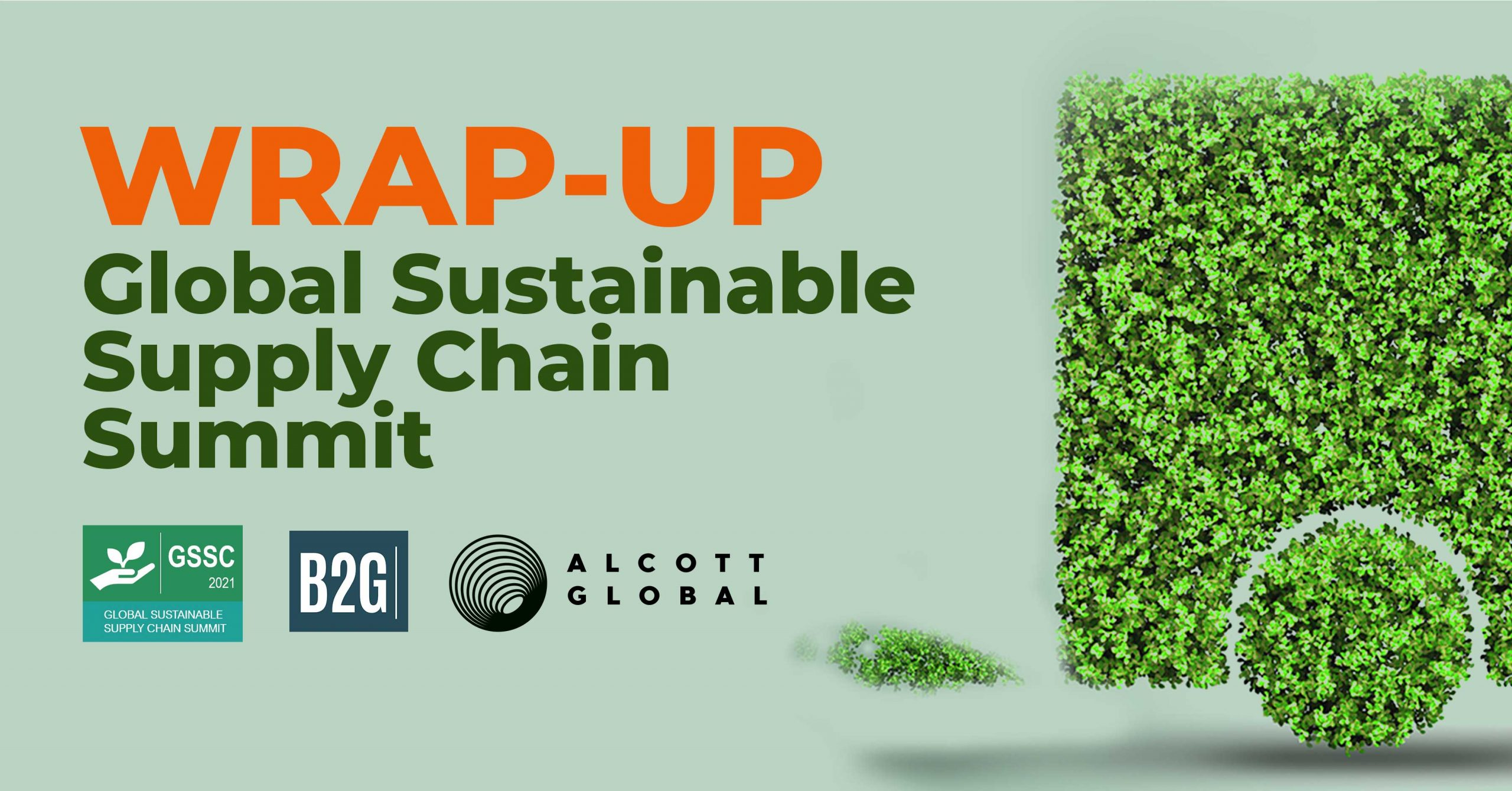 Global Sustainable Supply Chain Summit Wrap-up Featured Image