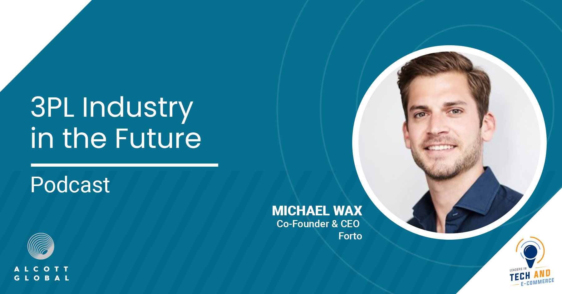 3PL Industry in the Future with Michael Wax Co-Founder and CEO of Forto Featured Image
